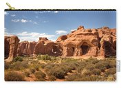 Double Arch Famous Landmark In Arches National Park Utah Carry-all Pouch