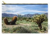 Double Barrel Cactus Carry-all Pouch