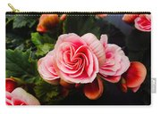 Double Begonia Carry-all Pouch