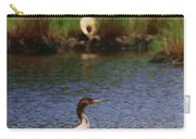 Double-crested Cormorant 2q Carry-all Pouch