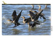 Double Crested Cormorants Carry-all Pouch
