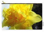 Double Daffodil Carry-all Pouch