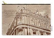 Double Decker View Quote Carry-all Pouch