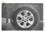 Double Exposure Manhole Cover Tire Holga Photography Carry-all Pouch