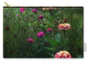 Double Framed Floral Carry-all Pouch