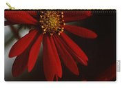 Double Gerbera Carry-all Pouch