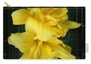 Double Jackpot Daylilies Carry-all Pouch