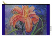 Double Lily Carry-all Pouch