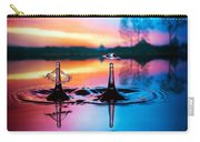 Double Liquid Art Carry-all Pouch by William Lee