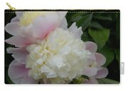 Double Peony Carry-all Pouch