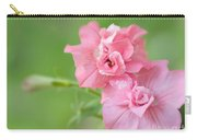Double Petunias Carry-all Pouch