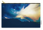 Double Rainbow Over Provo, United States Carry-all Pouch