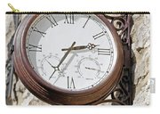 Double Sided Station Clock - Bakewell Carry-all Pouch