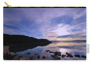 Double Sundog At Sunset Carry-all Pouch