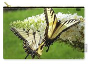 Double The Pleasure - Eastern Tiger Swallowtails Carry-all Pouch