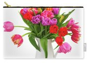 Double Tulips Bouquet Carry-all Pouch