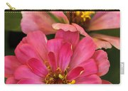 Double Vision In Pink Carry-all Pouch