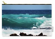 Double Waves Carry-all Pouch