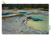 Doublet Pool Hot Spring In Yellowstone Carry-all Pouch