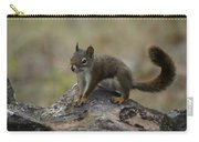 Douglas' Squirrel On The Rocks Carry-all Pouch