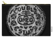 Doulble Stuff Oreo In Black And White Carry-all Pouch