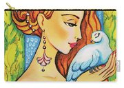 Dove Fairy Carry-all Pouch