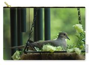 Dove Nesting, Balcony Garden, Hunter Hill, Hagerstown, Maryland, Carry-all Pouch