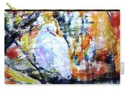 Dove On The Yellow Tree Carry-all Pouch