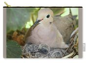 Doves In Planter Carry-all Pouch