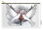 Doves Of Peace Carry-all Pouch