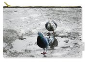 Doves On The Street Carry-all Pouch