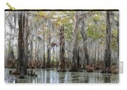 Down On The Bayou - Digital Painting Carry-all Pouch by Carol Groenen