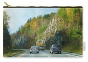 Down The Road On Route 89 Carry-all Pouch