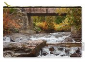 Down The Road To Greenbanks's Hollow Covered Bridge Carry-all Pouch