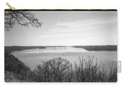 Down The Susquehanna_bw Carry-all Pouch