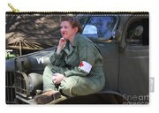 Down Time-us Army Nurse Corps Carry-all Pouch