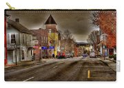 Down Town Lexington Va Carry-all Pouch by Todd Hostetter