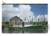 Downeast Style Yacht Docked On Shem Creek In Charleston Carry-all Pouch