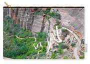 Downhill Switchbacks From Angels Landing Carry-all Pouch