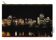 Downtown Calgary At Night Carry-all Pouch