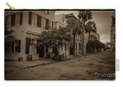 Vintage Downtown Charleston South Carolina Carry-all Pouch