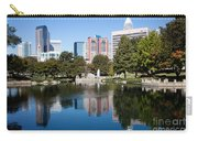 Downtown Charlotte North Carolina From Marshall Park Carry-all Pouch