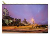 Downtown Charlotte North Carolina Usa At Sunrise Carry-all Pouch by Alex Grichenko