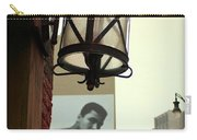Downtown Detroit Light Fixture With Muhammad Ali Billboard Carry-all Pouch