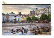 Downtown Lisbon Carry-all Pouch by Carlos Caetano