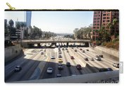Downtown Los Angeles. 110 Freeway And Wilshire Bl Carry-all Pouch