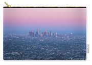 Downtown Los Angeles Skyline At Sunset Carry-all Pouch