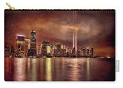 Downtown Manhattan September Eleventh Carry-all Pouch by Chris Lord