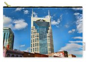 Downtown Nashville Blue Sky Carry-all Pouch