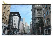 Downtown San Francisco Street Level Carry-all Pouch